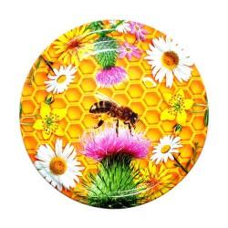 Viečko 82 potlač lúčne kvety