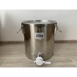 Plnička medu nerez 25kg...