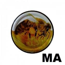 Viečko 82mm motív včely žlté
